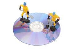 Reparación del disco nueva Imagen de archivo