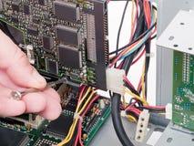 Reparación del ordenador Imagen de archivo