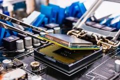 Reparación del ordenador Imagenes de archivo