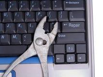 Reparación del ordenador Imágenes de archivo libres de regalías