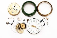 Reparación del reloj Imagen de archivo libre de regalías