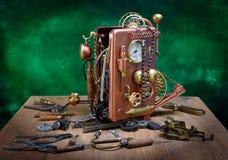 Reparación del teléfono. Imágenes de archivo libres de regalías