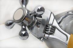 Reparación en una cocina Fotografía de archivo libre de regalías