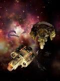 Reparación espacial stock de ilustración