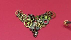 Reparación mecánica del corazón almacen de video