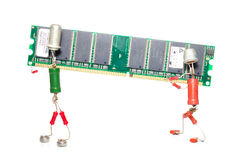 Reparación o mejora de la memoria imagenes de archivo