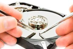 Reparación de los datos Foto de archivo libre de regalías