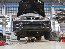 Reparación del coche Fotos de archivo libres de regalías