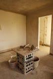 Reparaciones de edificio fotografía de archivo