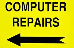 Reparaciones del ordenador Imagen de archivo libre de regalías