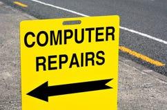 Reparaciones del ordenador Fotografía de archivo libre de regalías