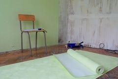 Reparaciones en el apartamento Fotografía de archivo libre de regalías