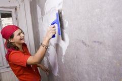 Reparaciones en el apartamento Foto de archivo