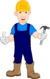 Reparador do trabalhador da construção Fotos de Stock Royalty Free