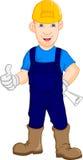 Reparador do trabalhador da construção Foto de Stock