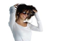 Reparando o cabelo Fotos de Stock