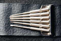 Reparatie, mod. van het onderhouds vaping apparaat Royalty-vrije Stock Afbeelding