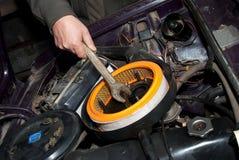 Reparatie van de auto Stock Afbeelding