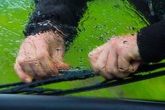 Reparatie van de auto Stock Afbeeldingen