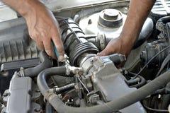 Reparatie van de auto Royalty-vrije Stock Fotografie