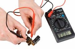 Reparatie van elektronika Stock Fotografie