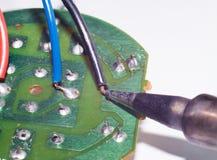 Reparatie van elektronische apparaten Stock Afbeelding
