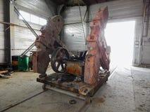 Reparatie van oliemateriaal royalty-vrije stock foto