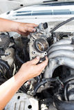 Reparatieauto Royalty-vrije Stock Afbeeldingen