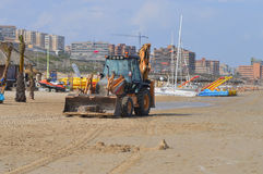 Reparaties aan het Strand Royalty-vrije Stock Afbeeldingen
