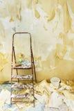 Reparaties in de flat Royalty-vrije Stock Foto