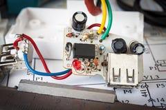 Reparation av den elektroniska anordningen Royaltyfria Foton