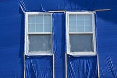 Reparation för hagelstormskada Royaltyfria Bilder