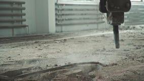Reparationsarbete med den speciala utrustningen håla Inga personer lager videofilmer