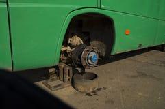 Reparationshjulbuss Arkivbild