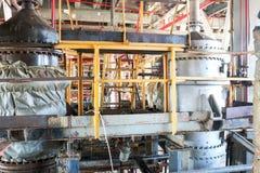 Reparatur der chemischen Prozessausrüstung der Rohrleitungen, der Pumpen, der Behälter, der Wärmetauscher, der Flansche und der V stockbilder