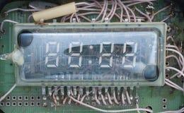 Reparatur der elektronischen Stunden Stockfoto
