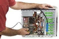 Reparatur des Computers Stockfotografie