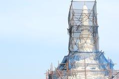 Reparatur des Tempels Stockfotografie