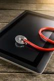 Reparatur und Servicekonzept Digital-Tablette, die mit bestimmt wird Lizenzfreies Stockbild