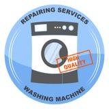 Reparatur von Reinigung von Maschinendienstleistungen Stempelhohe qualität Stockfoto