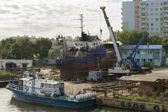 Reparaturschiff Lizenzfreie Stockfotografie