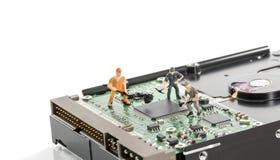 Repare жесткого диска Стоковое фото RF