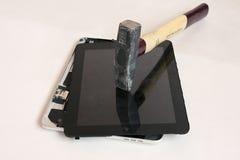 Repare el iPad Foto de archivo