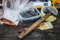Repare ferramentas Foto de Stock