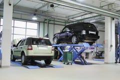 Repare a garagem Fotografia de Stock
