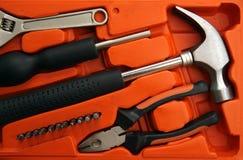 Repare las herramientas en rectángulo Foto de archivo