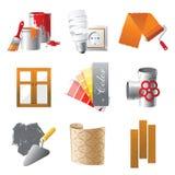 Repare los iconos Imagen de archivo libre de regalías