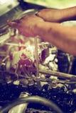 Repare o motor de pistão Fotografia de Stock Royalty Free