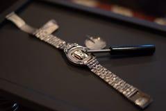 Repare o relógio fotografia de stock royalty free
