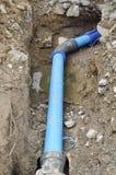 Repare a tubulação de água fotografia de stock